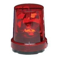 Federal Signal 121S-120R - Manufacturer quick description : : Rotating light, 120VAC, surface or pipe mount, red.