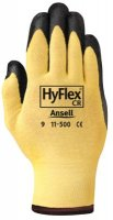 Ansell Model 1150011 Product factory & Part Desription: 11-500-11 Size 11 HyFlex Cut Resistant Foam Nitrile Gloves Price per Pair