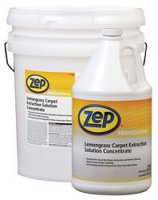 Zep Professional R00624 Product factory & Part Desription: Lemongrass Carpet Extraction Solution Concentrate 1 Gallon Price per Each