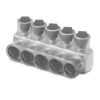 CSB-750-3 Blackburn- Elastimold (Thomas & Betts) Multi Tap Encapsulated Cable Block; 750 KCMIL-1/0 AWG, 3 Ports, Aluminum