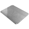 Rittal Corporation WMMP4836 - Desc : Replacement Enclosure Mounting Panel 11 Gauge Carbon Steel For JB WM Model Wallmount Enclosures