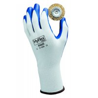 Ansell Model 119007 - Manufacturer quick description : : 11900-7 Small Blue Nitrile Palm Coated Gloves Price per Case
