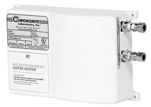 Chronomite Laboratories M30L/240 - Manufacturer quick description : : (110F) Instant-Flow Micro Tankless Water Heater - Click Image to Close