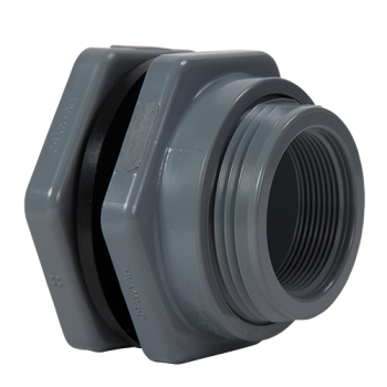 Hayward BFAS1020TFS Product specifications from Manufacturer: : 2 inch PVC Bulkhead Fitting with FPM gasket; threaded x threaded end connections