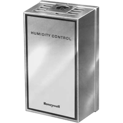 Honeywell H600A1014/U UPC code: 85267047548 HUMIDITY CONTROL. HUMIDISTAT OR DEHUMIDISTAT. 20% - 80% RH. WALL MOUNT. 24/ Classification Residential Comfort/Combustion Item Indoor Air Quality (IAQ)