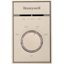 Honeywell T651A3018/U UPC code: 85267824347 MEDIUM DUTY LINE VOLTAGE THERMOSTAT, 44F TO 86F SETTING TEMPERATURE, SPDT, Classification Commercial Building Controls Item Thermostats - Commercial