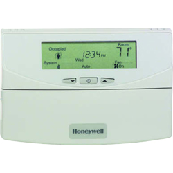Honeywell T7351F2010/U UPC code: 85267307703 CONFIGURABLE THERMOSTAT FOR 3 HEAT/3 COOL CONVENTIONAL OR HEAT PUMP APPLICA Classification Commercial Building Controls Item Thermostats - Commercial