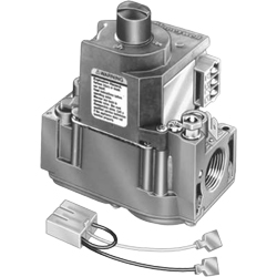 "Honeywell VR8345H4555/U UPC code: 85267797313 UNIVERSAL ELECTRONIC IGNITION GAS VALVE, SLOW OPENING. 3/4"" X 3/4"", 24 VAC, Classification Residential Comfort/Combustion Item Combustion Controls"