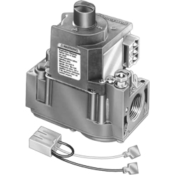 "Honeywell VR8345Q4563/U UPC code: 85267797306 UNIVERSAL ELECTRONIC IGNITION GAS VALVE, TWO STAGE. STANDARD OPENING. 3/ 4"" Classification Residential Comfort/Combustion Item Combustion Controls"