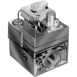 "Honeywell VS820A1336/U UPC code: 85267115490 STANDING PILOT MILLIVOLT GAS VALVE. STANDARD OPENING. 3/4"" X 3/4"" WITH 1/2"" Classification Residential Comfort/Combustion Item Combustion Controls"