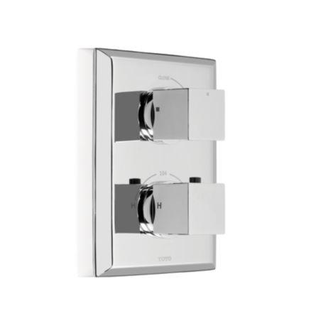 TOTO TS930C#PN - Desc : Toto Lloyd Thermostatic Mixing Valve Trim with Single Volume Control, Polished Nickel