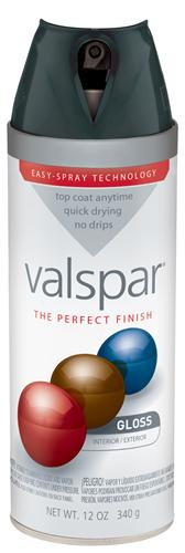 Valspar 410-85041 - Desc : 12 oz Premium Enamel Spray Paint, Cobalt Cannon Gloss (6 Pack)