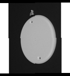 "Complete feature: Wiremold UPC 786776056464 Wiremold Part # 2336 Non-Metallic, Blank Cover, 2300 Series. Size: 4-1/2"" Diameter. PVC, Ivory. Wiremold Classification: 1-Gang Covers & Faceplates 2336"