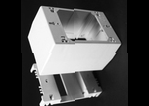 "Complete feature: Wiremold UPC 786776534153 Wiremold Part # 2344D Non-Metallic, 1-Gang, Extra Deep Device Box, 2300BACD Series. Size: 4-3/4"" Length, 3"" Width, 2-3/4"" Depth. PVC, Ivory. Wiremold Classification: 1-Gang Device Boxes 2344D"