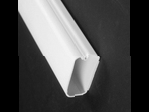 "Complete feature: Wiremold UPC 786776548716 Wiremold Part # 2900-WH Non-Metallic, Latching Raceway, 2900 Series. Size: 6' Length, 1-1/2"" Width, 3/4"" Height. PVC, White Wiremold Classification: 1-Piece Raceway 2900-WH"