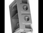 Complete feature: Wiremold UPC 786564515913 Wiremold Part # 880CM2-1 2-Gang, Adjustable Floor Box, Depth: 2-7/16 Inch, Cubic Inches: 76, (6) 1 Inch Conduit Openings, Cast Iron Wiremold Classification: Floor Boxes - Square 880CM2-1