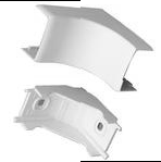 "Complete feature: Wiremold UPC 786776016093 Wiremold Part # PN10F18WH Non-Metallic, Internal Elbow, PN10 Series. Size: 1-5/8"" Length. PVC, White. Wiremold Classification: Elbows PN10F18WH"