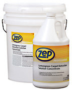 Zep Professional R00365 Product factory & Part Desription: R00635 Lemongrass Carpet Extraction Solution Concentrate 5 Gallons Price per Each
