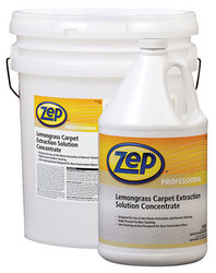 Zep Professional R00624 - Manufacturer quick description : : Lemongrass Carpet Extraction Solution Concentrate 1 Gallon Price per Each - Click Image to Close