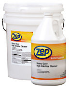 Zep Professional R08635 - Desc : Heavy-Duty High Alkaline Cleaner 5 Gal. Price per Each